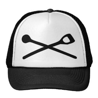 wooden spoon cooking icon trucker hat