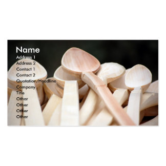 Wooden Spoons Business Card