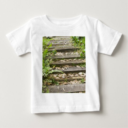 Wooden steps baby T-Shirt