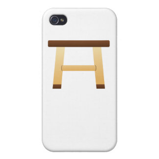 Wooden Stool iPhone 4/4S Case