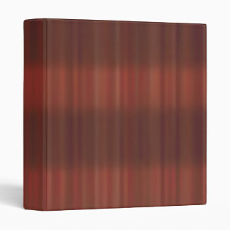 Wooden Stripes Pattern 3 Ring Binder