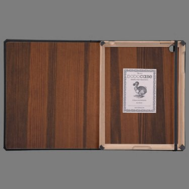 Wooden style cases for iPad