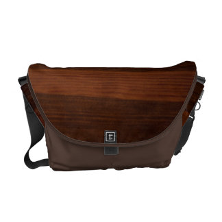 Wooden style courier bags