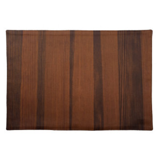 Wooden style placemat