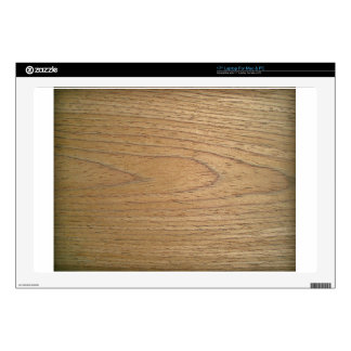 """Wooden Surface With Bark 17"""" Laptop Skins"""