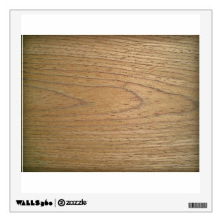 Wooden Surface With Bark Room Decal