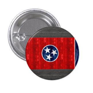 Wooden Tennessean Flag Pinback Buttons