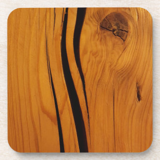 Wooden texture coaster