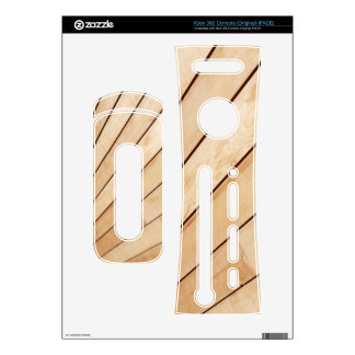 Wooden texture decal for the xbox 360