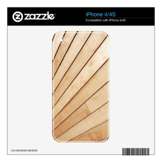 Wooden texture decals for the iPhone 4