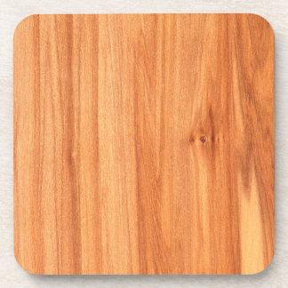 Wooden texture design coaster