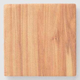 Wooden texture design stone coaster