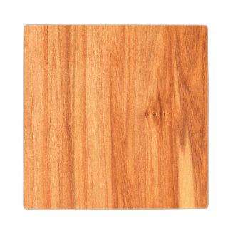 Wooden texture design maple wood coaster