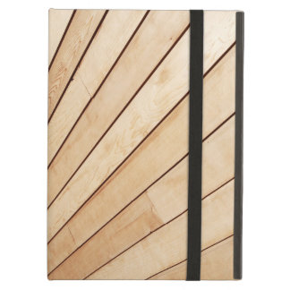 Wooden texture iPad air cover