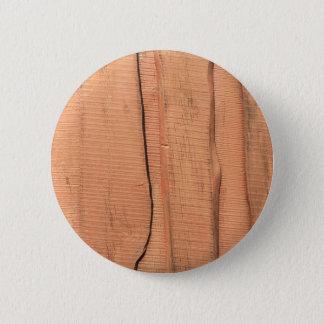 Wooden texture pinback button