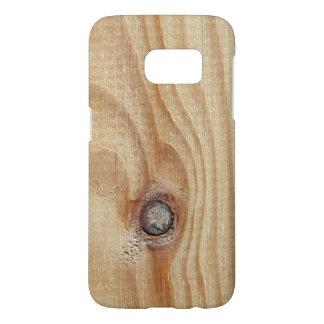 Wooden texture samsung galaxy s7 case
