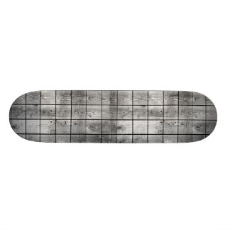 Wooden texture skate board deck