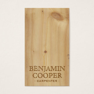 Wooden Texture - Style A Business Card