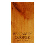 Wooden Texture - Style F Business Card