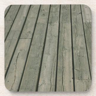 Wooden Texture, Wood Pattern, Planks Beverage Coaster