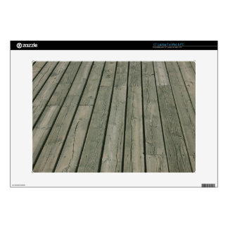 "Wooden Texture Wood Pattern Planks Decal For 15"" Laptop"