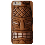 Wooden Tiki Mask Barely There iPhone 6 Plus Case