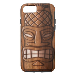Wooden Tiki Mask iPhone 8/7 Case
