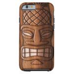 Wooden Tiki Mask Tough iPhone 6 Case