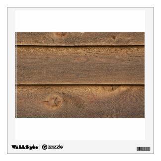 Wooden tiles wall sticker