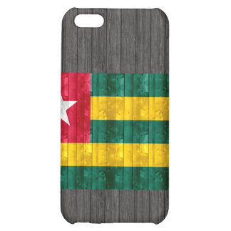 Wooden Togolese Flag iPhone 5C Cases