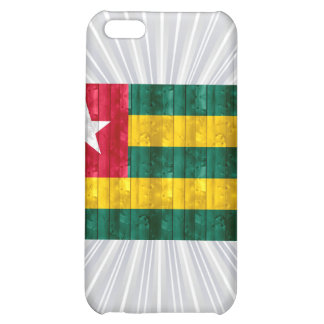 Wooden Togolese Flag iPhone 5C Case