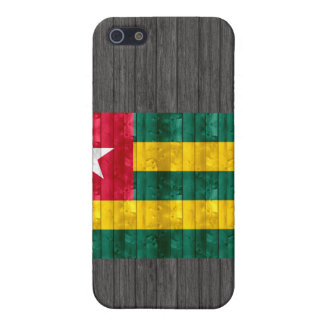 Wooden Togolese Flag iPhone 5 Cases