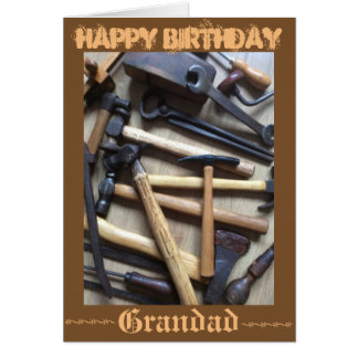 Wooden Tools Card