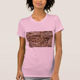 Wooden toothpicks tee shirts
