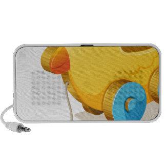 wooden toy travel speaker