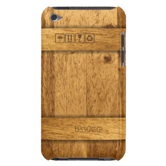Wooden Transport Box iPod Touch Case