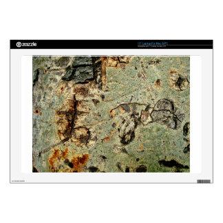 Wooden tree bark laptop skins