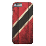 Wooden Trinidad and Tobago Flag Barely There iPhone 6 Case