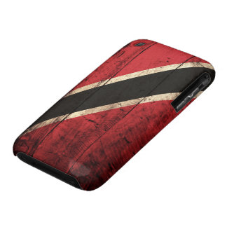 Wooden Trinidad and Tobago Flag iPhone 3 Case-Mate Case