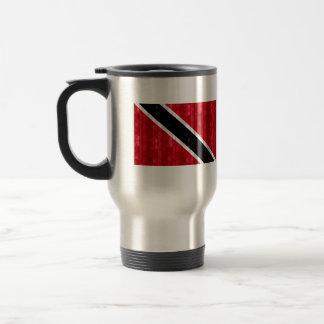 Wooden Trinidadian Flag Mugs