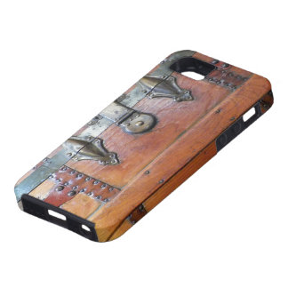 Wooden Trunk Chest with Latches iPhone 5 Cases