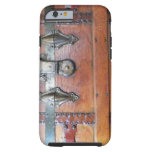 Wooden Trunk Chest with Latches iPhone 6 Case