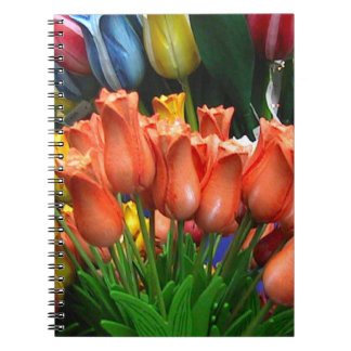 Wooden tulips from Amsterdam Journal