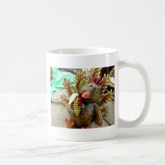 Wooden Turkey Coffee Mug
