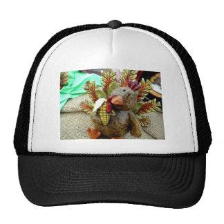 Wooden Turkey Trucker Hat