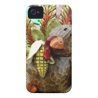 Wooden Turkey iPhone 4 Covers