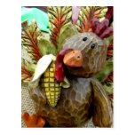 Wooden Turkey Post Cards