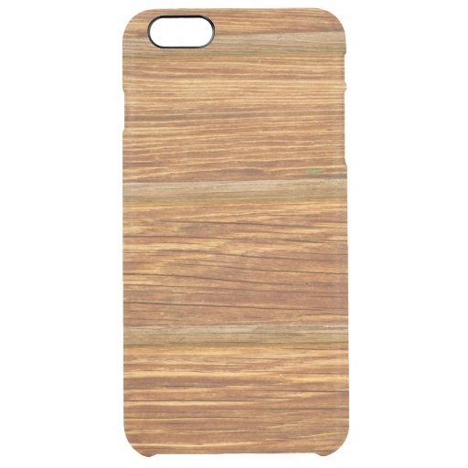Wooden  clear iPhone 6 plus case