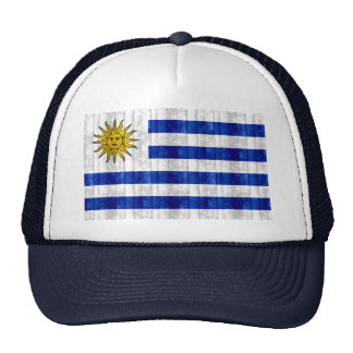 Wooden Uruguayan Flag Hats