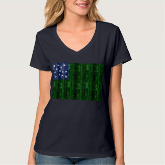 Wooden Vermont Flag T-Shirt
